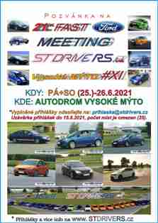 21st FAST FORD MEETING Vysoke Myto XI new icon